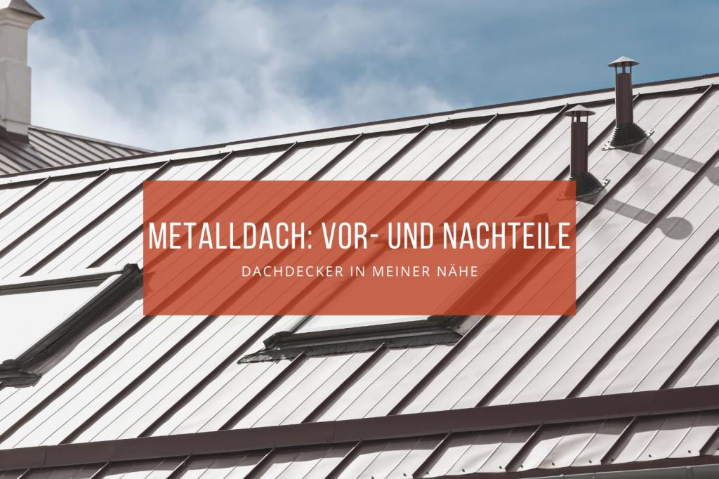 Metalldach Blechdach