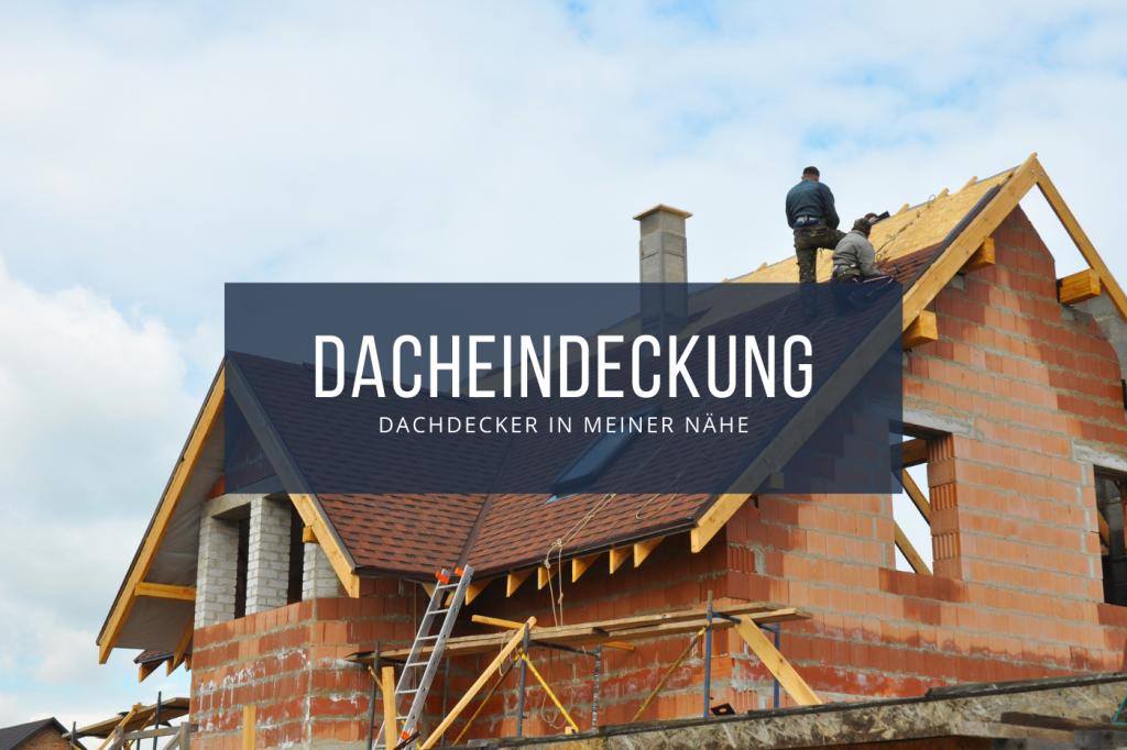 Dacheindeckung Dach decken